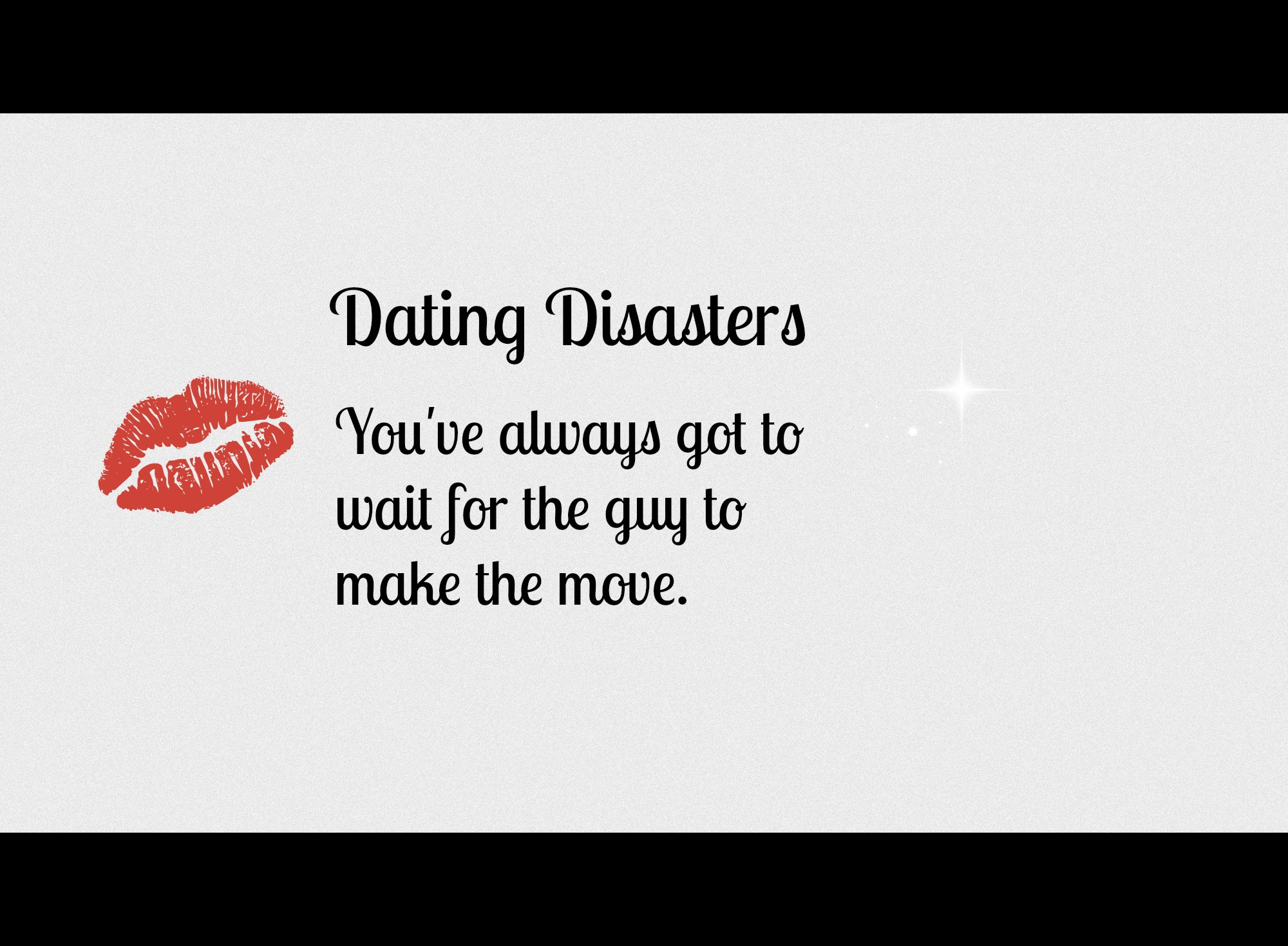 Moderne dating tips